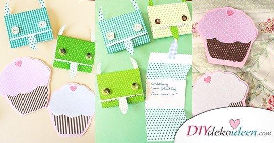 Extrem DIY Einladungskarten selber basteln: Der Kindergeburtstag wird ein JS04