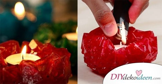 DIY Alaunkristalle – Diese eleganten Kerzenhalter aus Kristallen bringen Licht und Wärme in jedes Heim