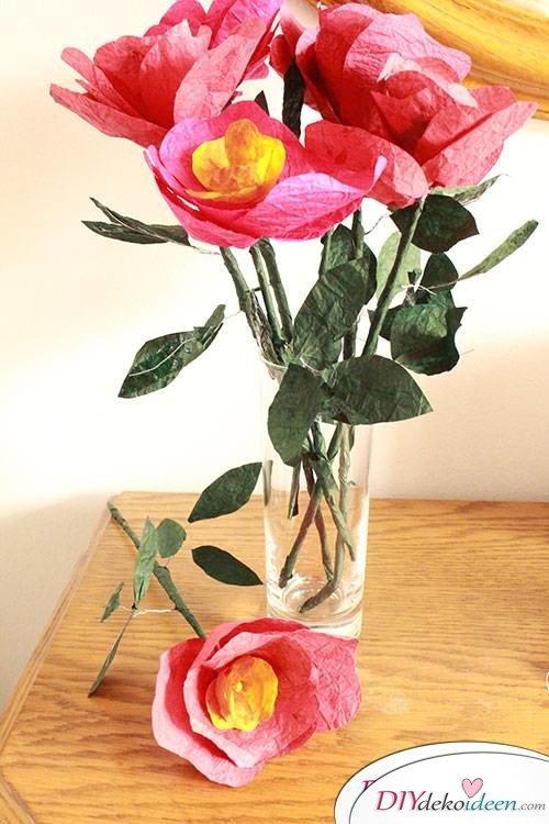Für Mutti - DIY Blumenstrauß zum Muttertag