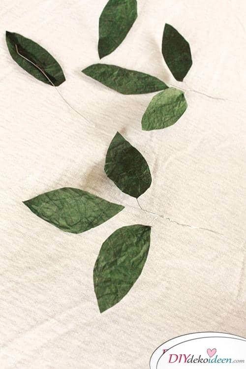 Selbstgemachtes Geschenk - DIY Blumenstrauß aus Knitterpapier