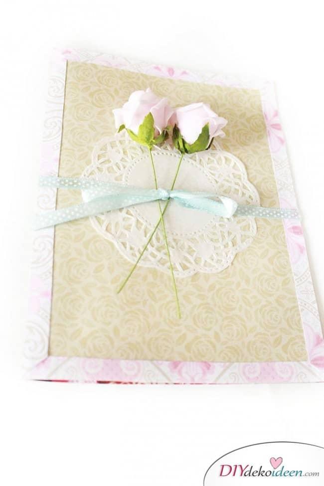 DIY Last Minute Geschenkidee - Karten basteln zum Muttertag