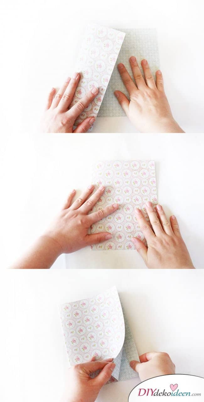 DIY Karten zum Muttertag - Basteln mit Papier