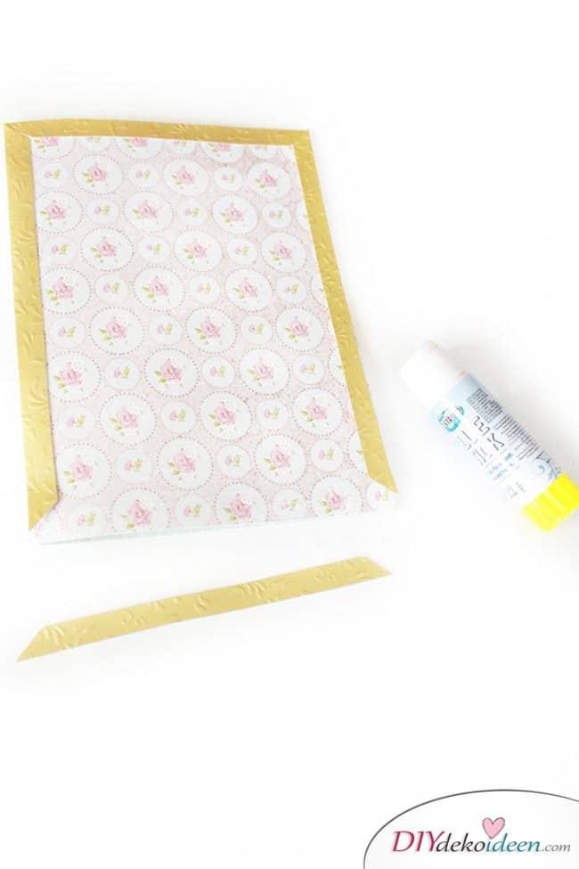Geschenke zum Muttertag - DIY Karten basteln mit Papier