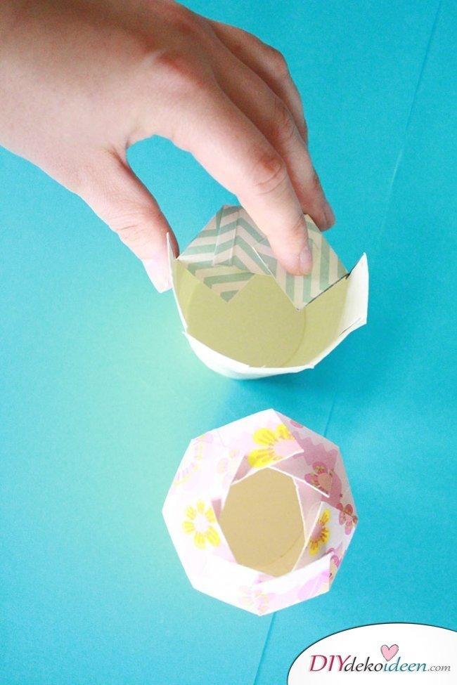DIY Geschenkschachtel - Basteln mit Papier