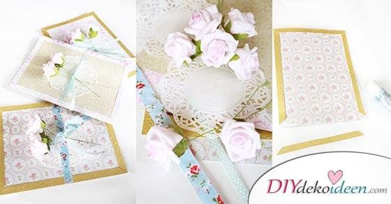 Diese DIY Muttertagskarten wird Mama lieben! Bastelideen für Geschenke zum Muttertag