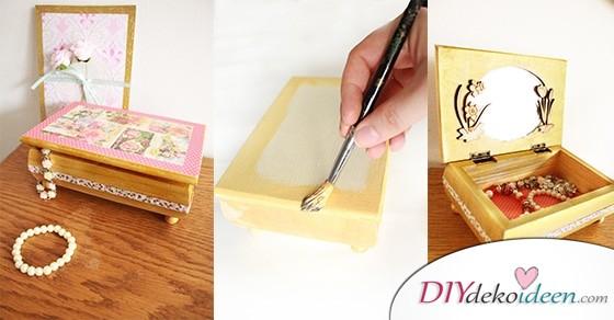 DIY Schmuckschatulle – Geschenke zum Muttertag mit Liebe selber machen