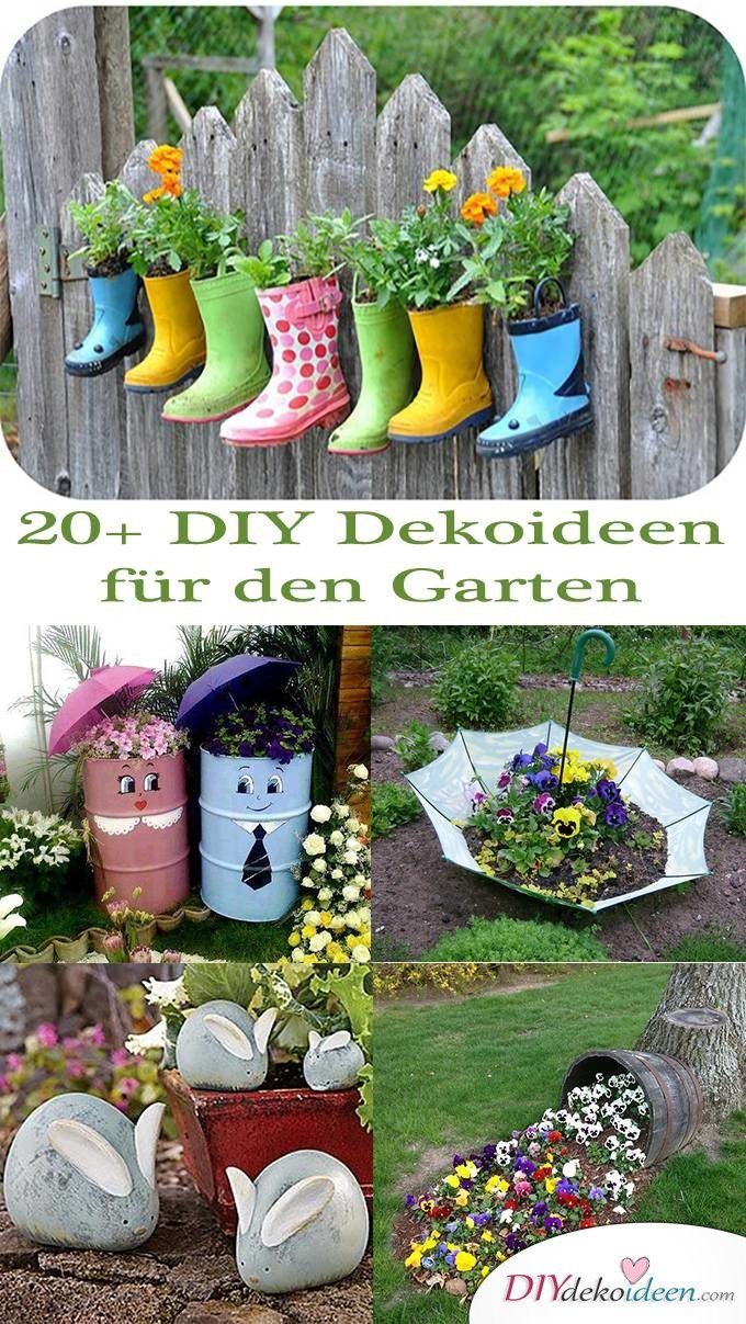 20 diy dekoideen f r den garten so einfach ist gartendeko selber machen. Black Bedroom Furniture Sets. Home Design Ideas