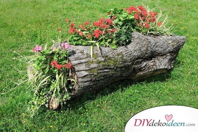 DIY Blumenkasten – Gartendeko selber machen