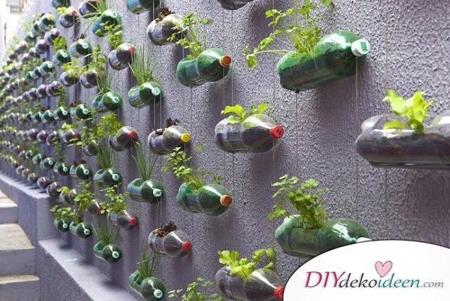 Vertikaler Garten – Gartendeko selber machen