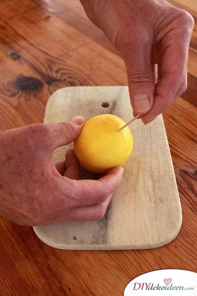 DIY Haushaltstipps und Life-Hacks - Zitronen auspressen
