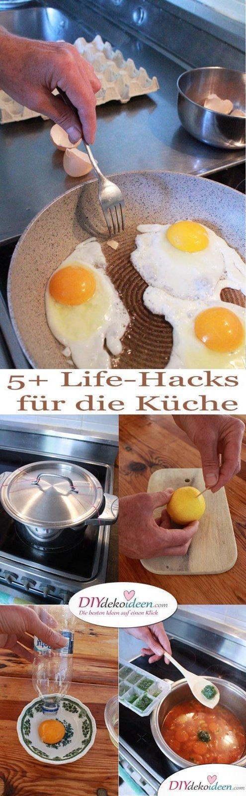 5+ weitere super DIY Haushaltstipps und Life-Hacks für die Küche.
