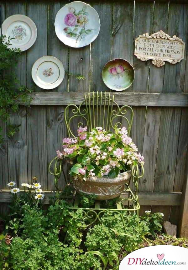 DIY Gartendeko selber machen – Blumenkübel