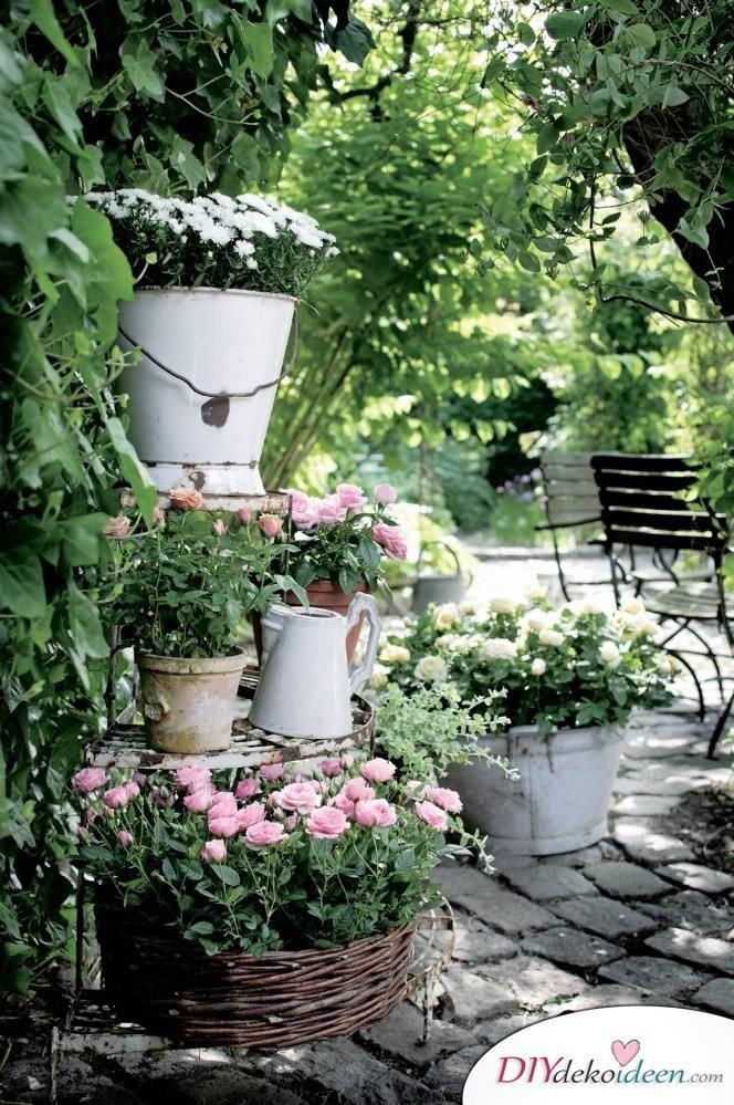 Diy gartendeko selber machen 25 dekoideen f r den fr hling for Gartengestaltung country