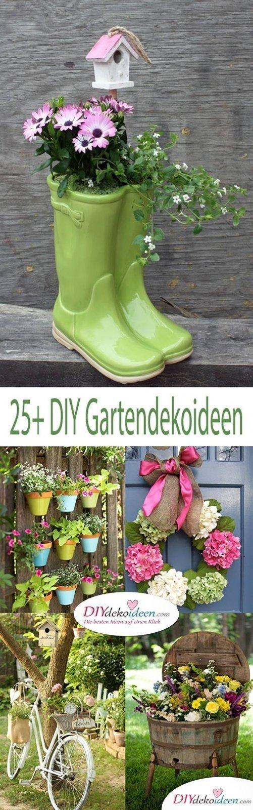 diy gartendeko selber machen ? 25+ dekoideen für den frühling - Gartendeko Selber Bauen