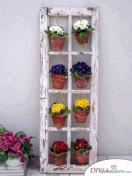 DIY Gartendeko selber machen – Blumendekoidee