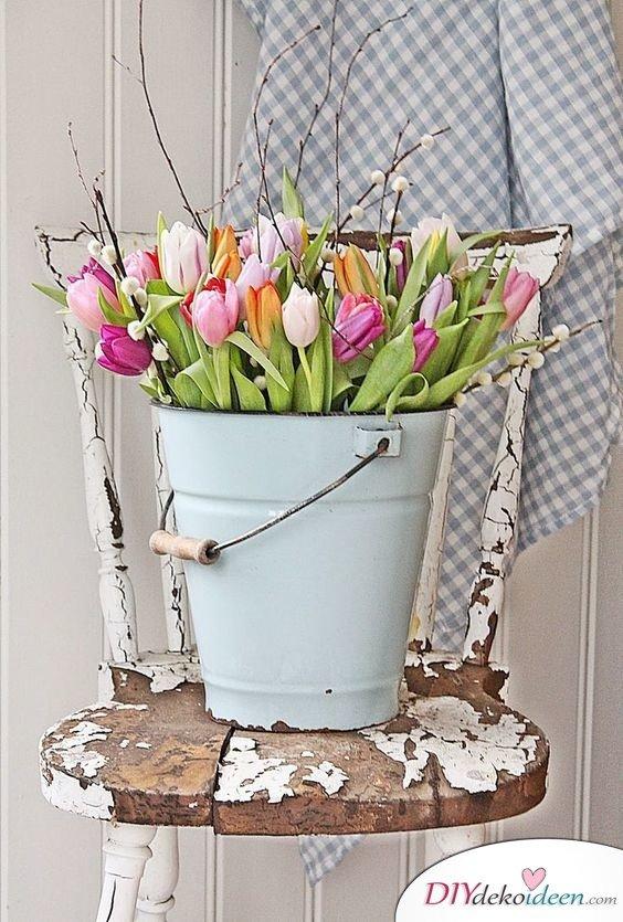 DIY Gartendeko selber machen – Frühlingsdeko