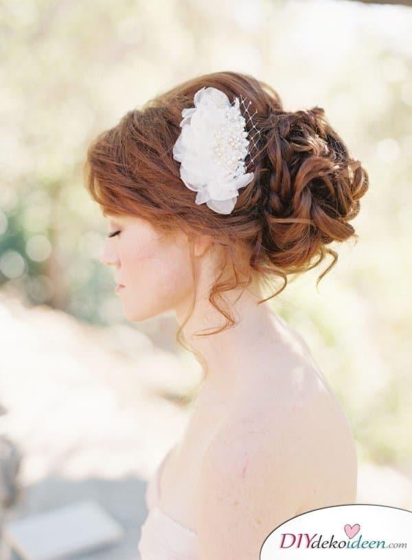 DIY Brautfrisuren für kurze Haare - Frisurentrends für den Sommer