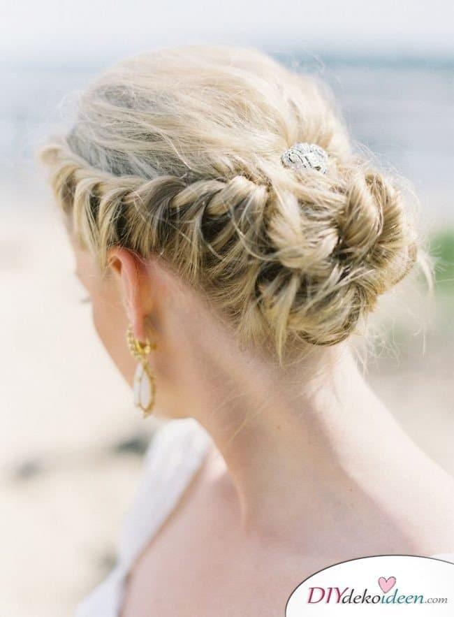 DIY Brautfrisuren für kurze Haare - Elegante Brautfrisuren
