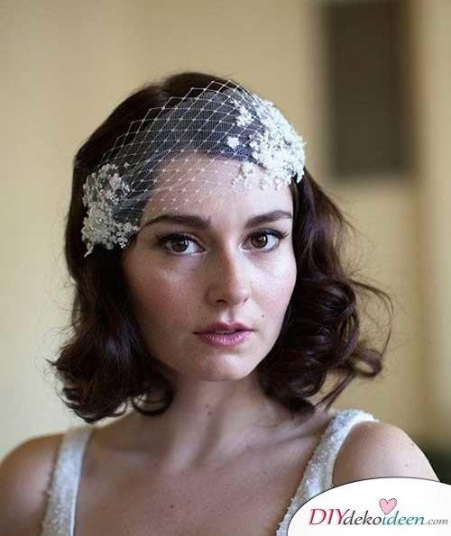 DIY Brautfrisuren für kurze Haare - Sommerhochzeit