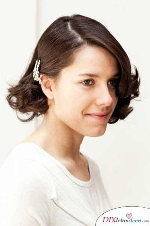 DIY Brautfrisuren für kurze Haare - Bobfrisuren