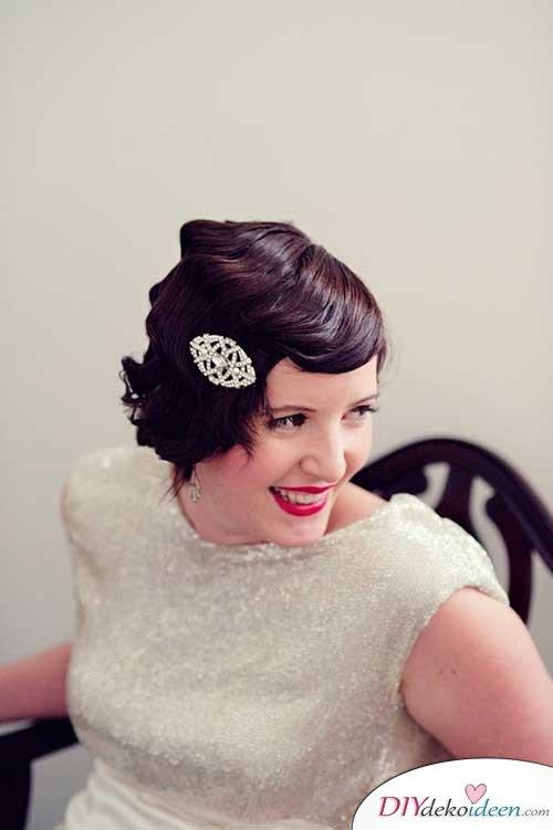 DIY Brautfrisuren für kurze Haare - Schicke Bobfrisuren