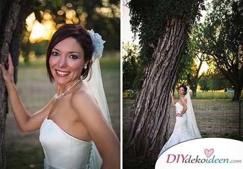 DIY Brautfrisuren für kurze Haare - Hochzeitstrends
