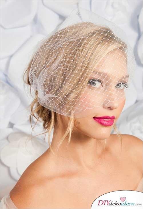 DIY Brautfrisuren für kurze Haare - Brautfrisurentrends