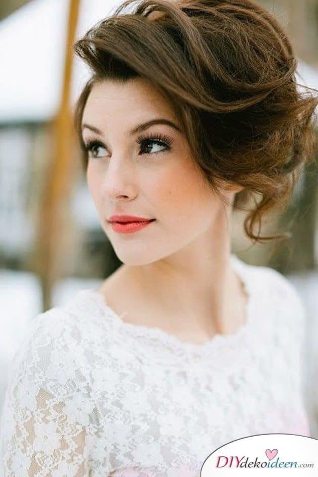 DIY Brautfrisuren für kurze Haare - Frisuren für kurzes Haar