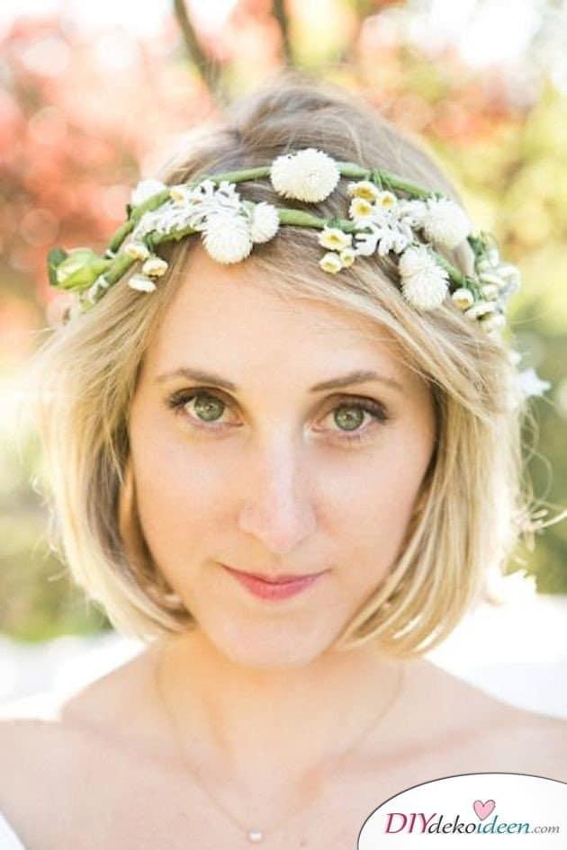 DIY Brautfrisuren für kurze Haare - Stylische Frisuren