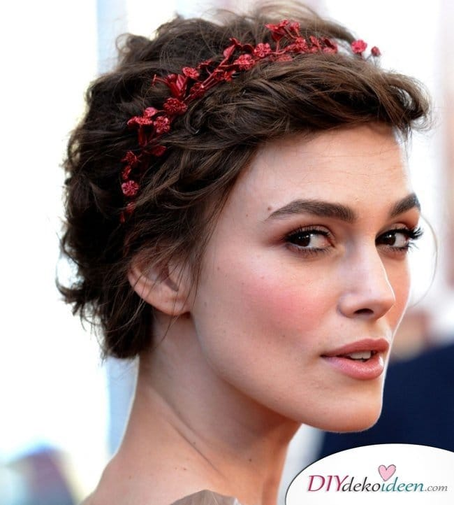 DIY Brautfrisuren für kurze Haare - Frisurentrends