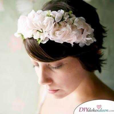 DIY Brautfrisuren für kurze Haare - Haarstyling