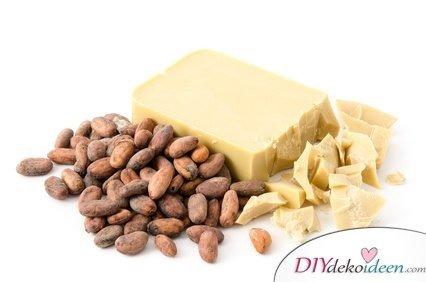 DIY Hausmittel gegen Spliss - Kakaobutter