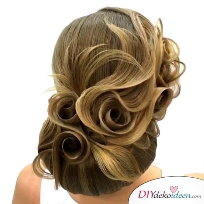 Haarverwandlungen – Styling Ideen