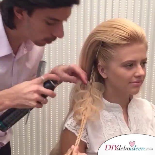 Haarverwandlungen – elegante Hochsteckfrisuren von Georgiy Kot