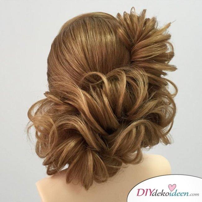 Haarverwandlungen – Brautfrisur Ideen