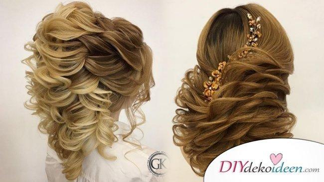 Haarverwandlungen – Brautfrisuren