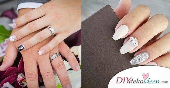 Elegante Brautnagel Zauberhafte Ideen Fur Deine Diy Hochzeitsmanikure