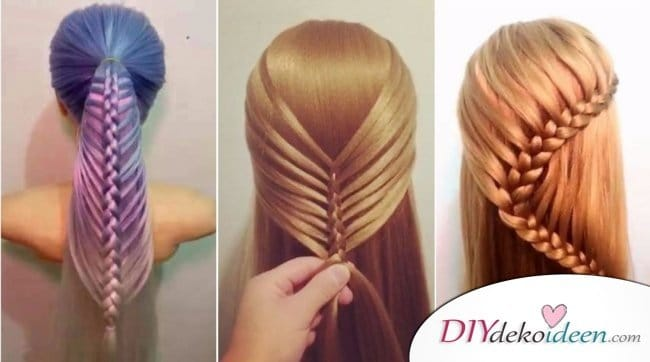 15 Unglaubliche Haarverwandlungen Hochsteckfrisuren Flechtfrisuren