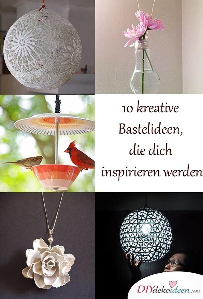 Kreative Bastelideen - DIY Dekoideen
