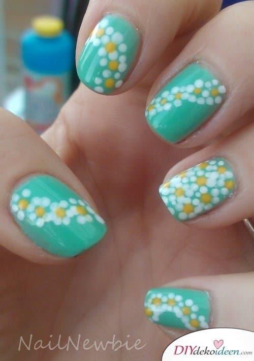 DIY Nageldesign Ideen - Sommernägel - Stylische Nägel