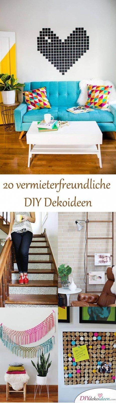 DIY Dekoideen für Wohnungen