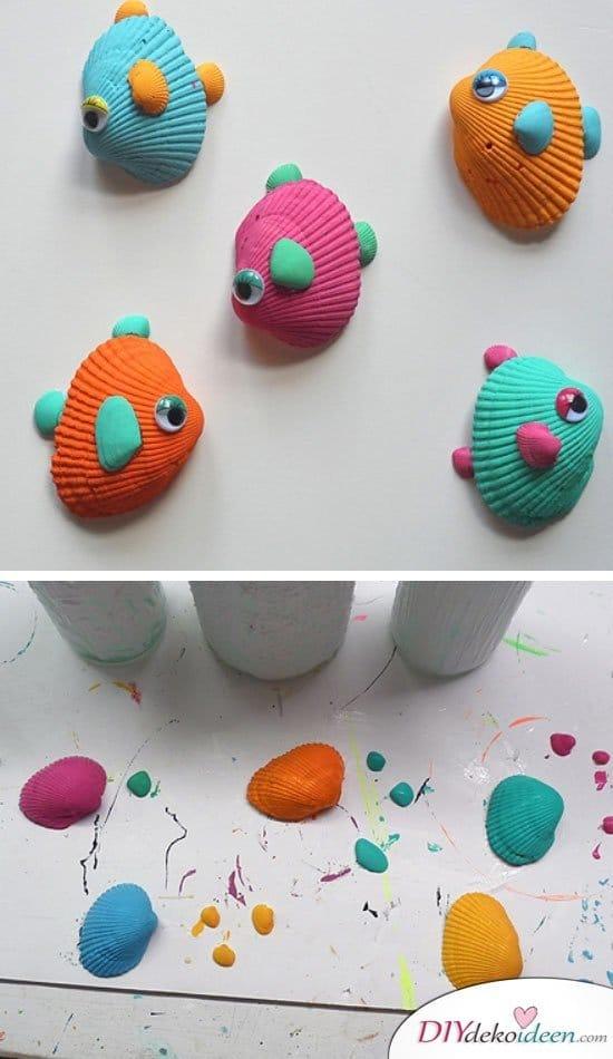 Sommerdeko - DIY Dekoideen - Basteln mit Kleinkindern