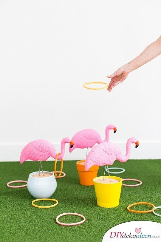 DIY Spielideen für Kindergeburtstage - Geschicklichkeitsspiel