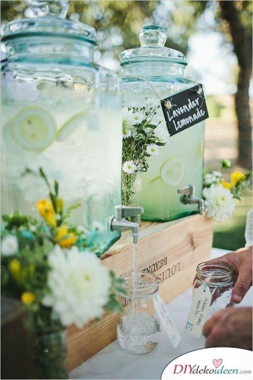 Garten Hochzeit - Limonade
