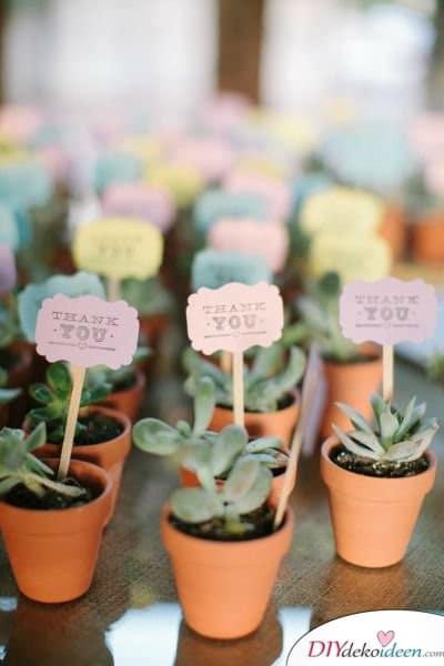 Garten Hochzeit - Gastgeschenk