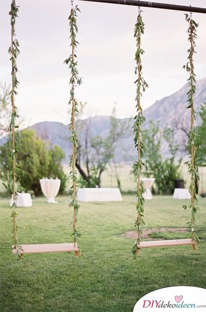 Garten Hochzeit - DIY Dekoideen für Hochzeit