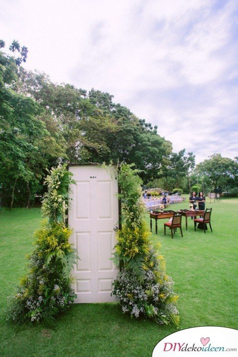 DIY Garten Hochzeit Dekoideen