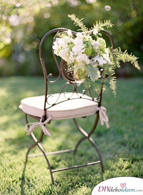 DIY Garten Hochzeit Dekoideen - Hochzeitsplanung