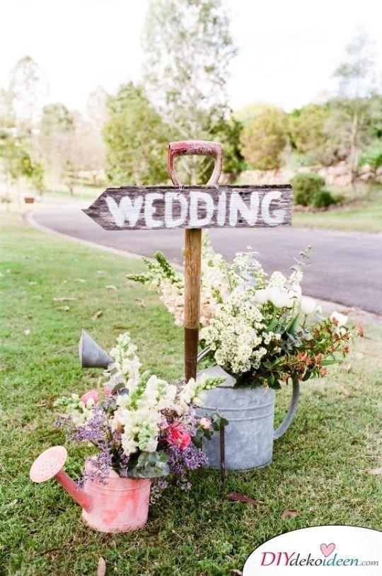 Garten Hochzeit - Hochzeitstrends 2017