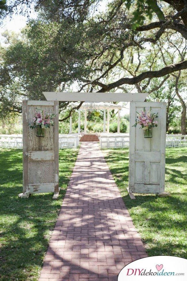 Garten Hochzeit - Dekoideen